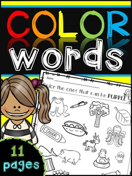 Color Words Recognition {color the color}