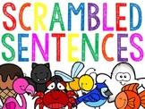 Color Words Scrambled Sentences (The Bundle)