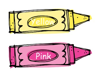 Color Words Signs- Freebie!