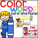 Color Words- Sorting and More