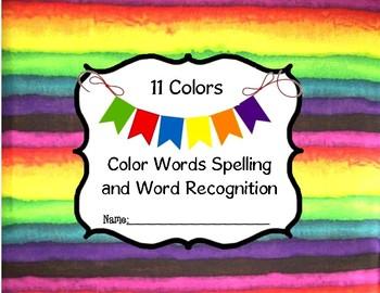 Color Words Unit #1