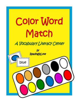 Color Words Vocabulary Game