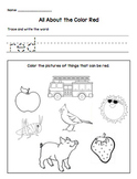 Color Words Worksheets - Link to all Colors