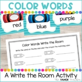 Color Words Write the Room