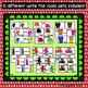 Color Words Write the Room Bundle : Christmas Edition