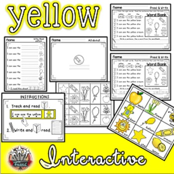 Color Words: YELLOW