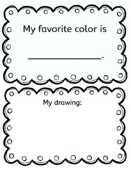 Color Words book