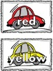 Color Words for Display (Cars)