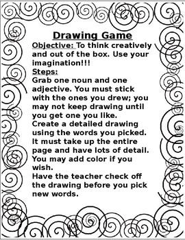 Drawing Game