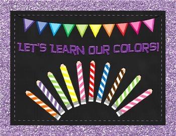Color Worksheet Set