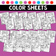 Color Worksheets Color Practice Pages Color Posters