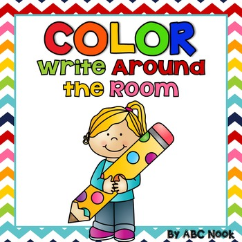 Color Write Around the Room