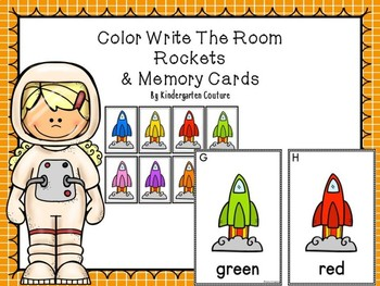 Color Word Write The Room -Rockets