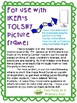 Color Writing Prompt Word Cards for IKEA TOLSBY frames