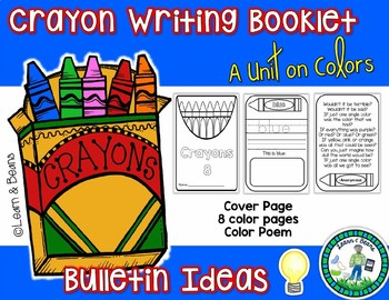 Writing Unit - Crayon Color Booklets