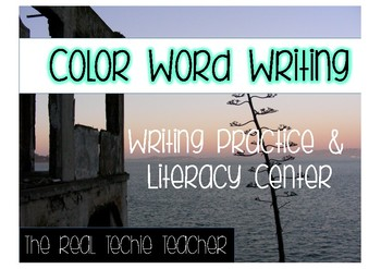 Color Writing and Literacy Center