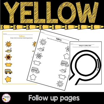 Color Yellow Activities