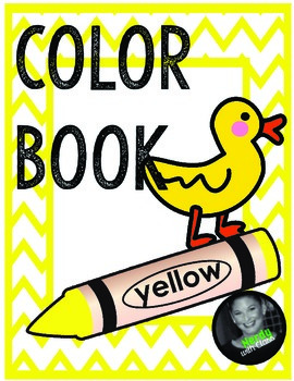 Color Yellow Book