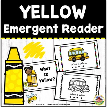 Color Yellow Emergent Reader