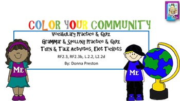 Color Your Community: McGraw-Hill Reading Series, Unit 3:3