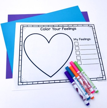Color Your Feelings: Art Therapy for Feelings Exploration