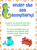 Color Your Own Bookmark