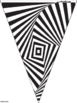 Bunting Banners Color Your Own Optical Illusions