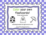 Color Your Own Dolch Sight Words