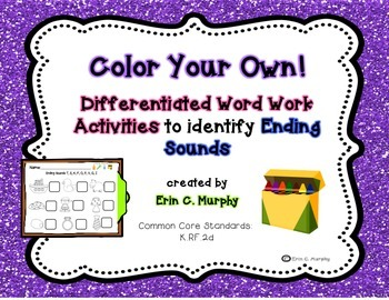 Color Your Own! Ending Sounds
