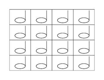 Color-Your-Own Steady Beat Charts