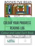 Color Your Progress Reading Log
