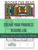 Color Your Progress Reading Log