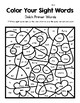 Color Your Sight Words!  Contains all 52 Dolch Primer Sight Words
