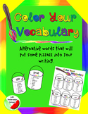 Color Your Vocabulary
