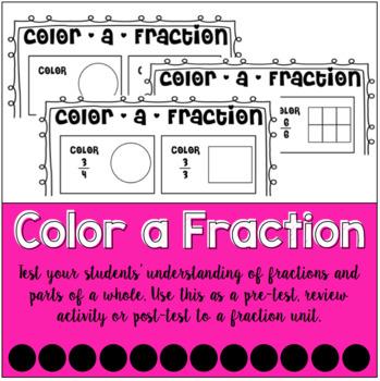 Color-a-Fraction Bundle