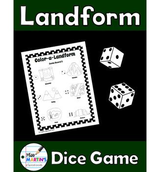 Landform Dice Game