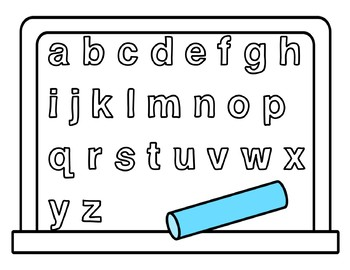 Color a Letter or Number