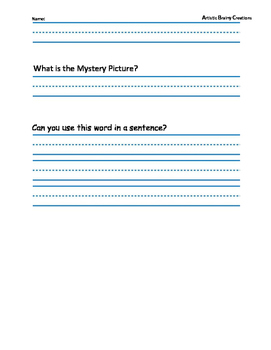 Color a Mystery Picture Using Phonetics: Long/Short e, a, and aw