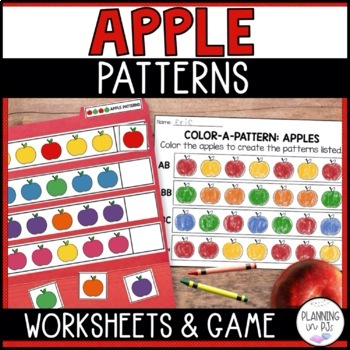 Color-a-Pattern: Apples