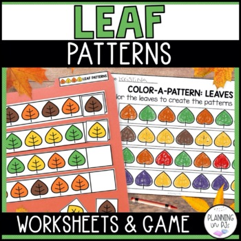 Color-a-Pattern: Leaves
