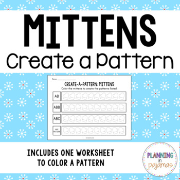 Color-a-Pattern: Mittens