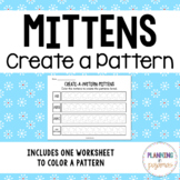 Coloring Patterns: Mittens