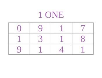 Color a number