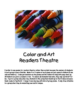 Color and Art Readers Theatre