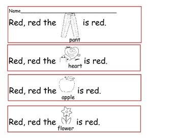 Color and Color Word Unit for Pre-k, TK, Kindergarten, and First grade