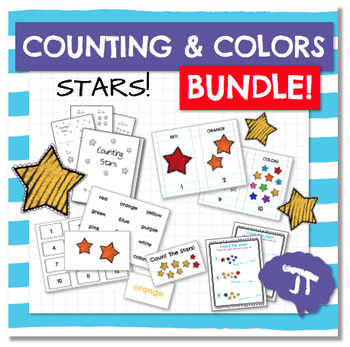 Color and Count STARS BUNDLE