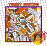 Color and Number Sorting _Thanksgiving