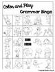 Color and Play Grammar Bingo