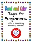 Read and Color Pages for Beginners Freebie