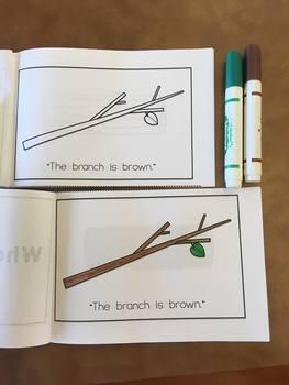 Color and Read Books LEVEL 1 - PreK, Kinder